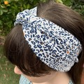 Wide knot head band