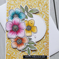 Fabulous Day Handmade Card