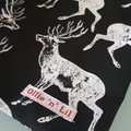 Woodland Deer Christmas Shorts Size 4, 5 and 6