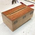 Valet | Jewellery | Keepsake | Wood Box In Ivory Needle Wood And Beefwood