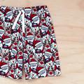 Shorts - Santa - Snowman - Reindeer -  Cotton
