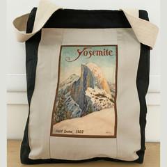 Yosemite Vintage Poster Tote Bag