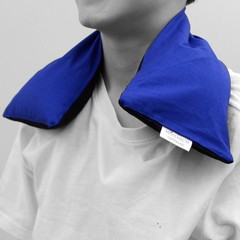 Wheat Heat Pack with Washable Cover (indigo)