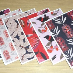 Set of 6 blank cards - gift pack - Australian Natives - Lovely Christmas gift!