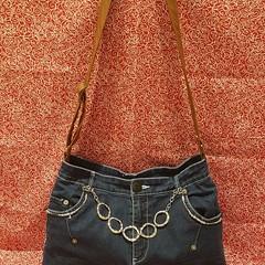 Silver Shimmer Handbag