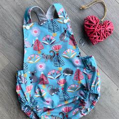 AUSSIE FRIENDS CHRISTMAS ROMPER, Size1 available