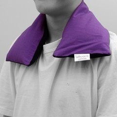 Wheat Heat Pack with Washable Cover (purple)