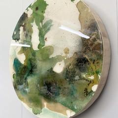 Resin coated artwork and/or trivet