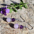 Amethyst Eve Earrings