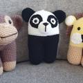 "Crochet Lion "" The King"" Animal Soft Toy, Lion Amigurumi"