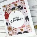 Christmas card, handmade Christmas card, Australian Christmas card