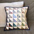 LIberty in Blue Cushion Cover