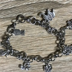 Animal themed charm bracelet