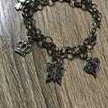 Heart themed charm bracelet