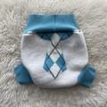 Medium Argyle Tie Nappy Cover