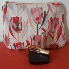 JOCELYN PROUST PROTEA  FABRIC COSMETIC BAG/TOILETRY BAG