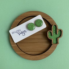 Cacti Trinket Dish and Earrings Gift Set