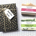 Xmas Gift (2 handmade soaps) - Select your Own Soap