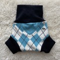 Medium Argyle Lacoste Nappy Cover