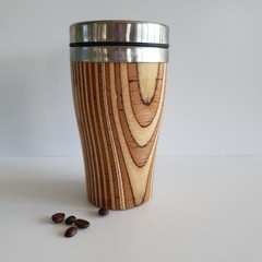 Wooden travel mug, Wooden coffee mug, Keep cup, Xmas gift, Australian timber
