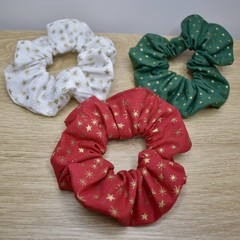 Christmas Scrunchie - Matching Mummy & Mini - Free Shipping