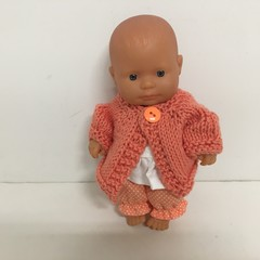 Miniland Dolls Knitted Cardigan to fit 21cm Dolls
