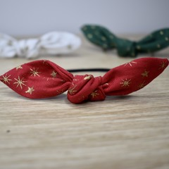 Christmas Hair Ties - Set of 2 - Free Shipping