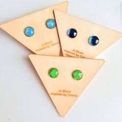 Petite Gold Stud Earrings
