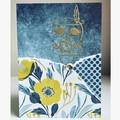 Boho owl card