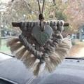 Boho/Macrame Car Charm