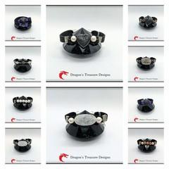 Medium Faux Suede Magnetic Bracelets