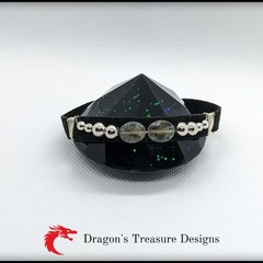 Large Faux Suede Adjustable Bracelets
