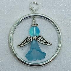 Mini Flower Angel Beaded Decoration/Pendant.