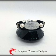 Small Faux Suede Magnetic Bracelets