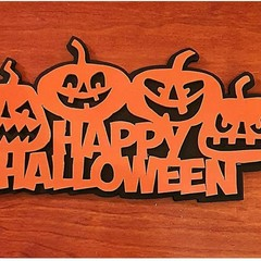 Happy Halloween Door Sign