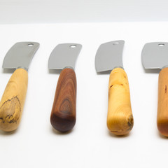 Cleaver style cheese Knife