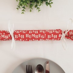 Christmas Bon Bon | Serviette | Bah Humbug | Includes Tubes | Set of 6