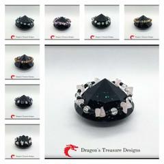 Medium Elastic Gemstone Bracelets
