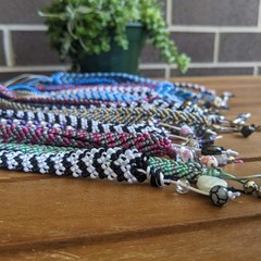 Chevron Pattern Friendship Bracelets Small 18 cm