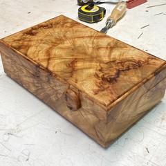 Valet | Keepsake | Jewellery | Wood Box In Camphor Laurel