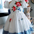 Stunning embroidered  dress size 3