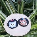 Kitten Dangle Earrings