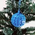 DECORATIONS - Bold Coloured Brick Christmas Decorations