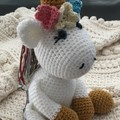 Unicorn, stuffed animal