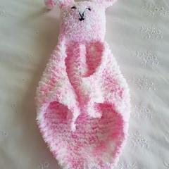 Cuddle bunny, security blanket