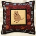 Australiana cushion cover - Quokka