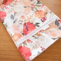 Standard Cotton Pillowcase - Red Floral