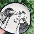 Bird Friendship plate