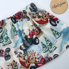 Girls Christmas Skirt - Size 5