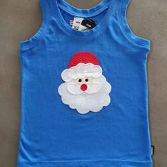 Santa Singlet Size 4